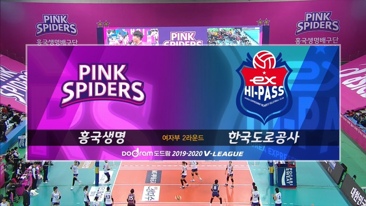 South Korea Women S V League 2019 2020 Page 12 Worldwide Volleyball Inside Volleycountry