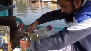 The making of Kashmiri kahwa tea
