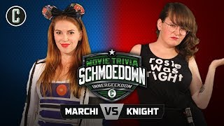 Innergeekdom Tournament! Keetin Marchi VS Rosie Knight - Movie Trivia Schmoedown