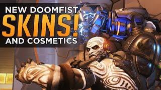 Overwatch: ALL Doomfist LEGENDARY SKINS and COSMETICS!!! thumbnail