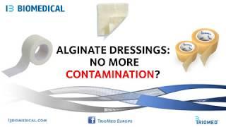 Alginate dressing contamination