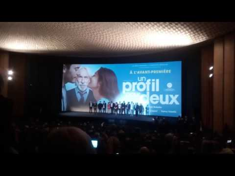 UGS Normandy avant premiere film Un profile pour Deux/ Pierre Richard