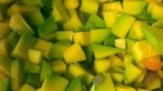 рецепт Крем суп из кабачков и тыквы