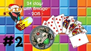 Casual Games [2] 24 Days with Emago (Solitaire, Tetris Arena, Zuma and Adventure capitalist)