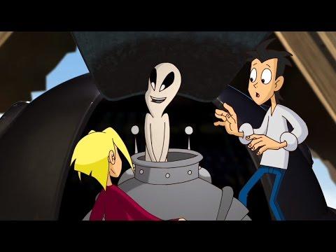 Новаторы - Странные гости старого чердака (1 сезон 1 серия) Развивающий мультфильм