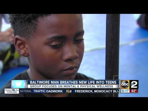 Baltimore man breathes new life into city teens