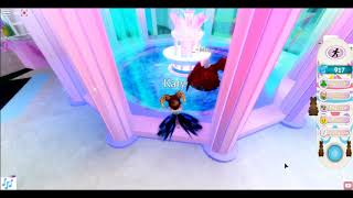 Roblox Royal High Thinking i was going to get the Easter Halo