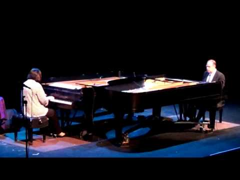 Oregon Coast Jazz Party 2015 - Charlap & Rosnes Piano Duo