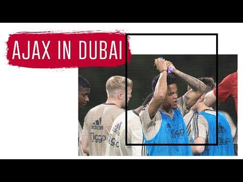 Ajax in Dubai op naar afsluiting van het seizoen