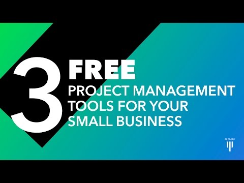 3 FREE Project Management Tools For Your Small Business