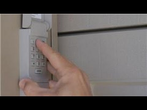 Garage Door Help How To Change The Code For A Garage Door Opener