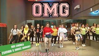 Omg Arash Feat Snapp Doog Rulya Masrah Zumba Dance Workout Choreography