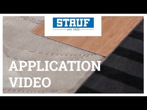 STAUF Application Video – Adhering Of LVT And Carpet