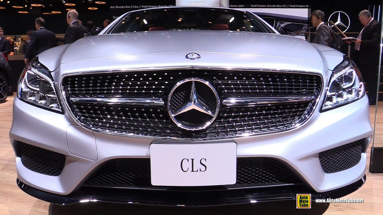 2016 mercedes cls400 4matic coupe exterior and interior walkaround 2016 detroit auto show. Black Bedroom Furniture Sets. Home Design Ideas