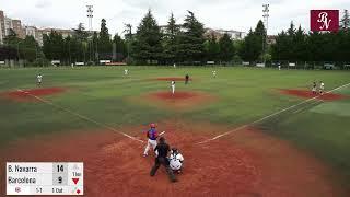 Beisbol Navarra vs CBS Barcelona (16.5.21) 1º partido