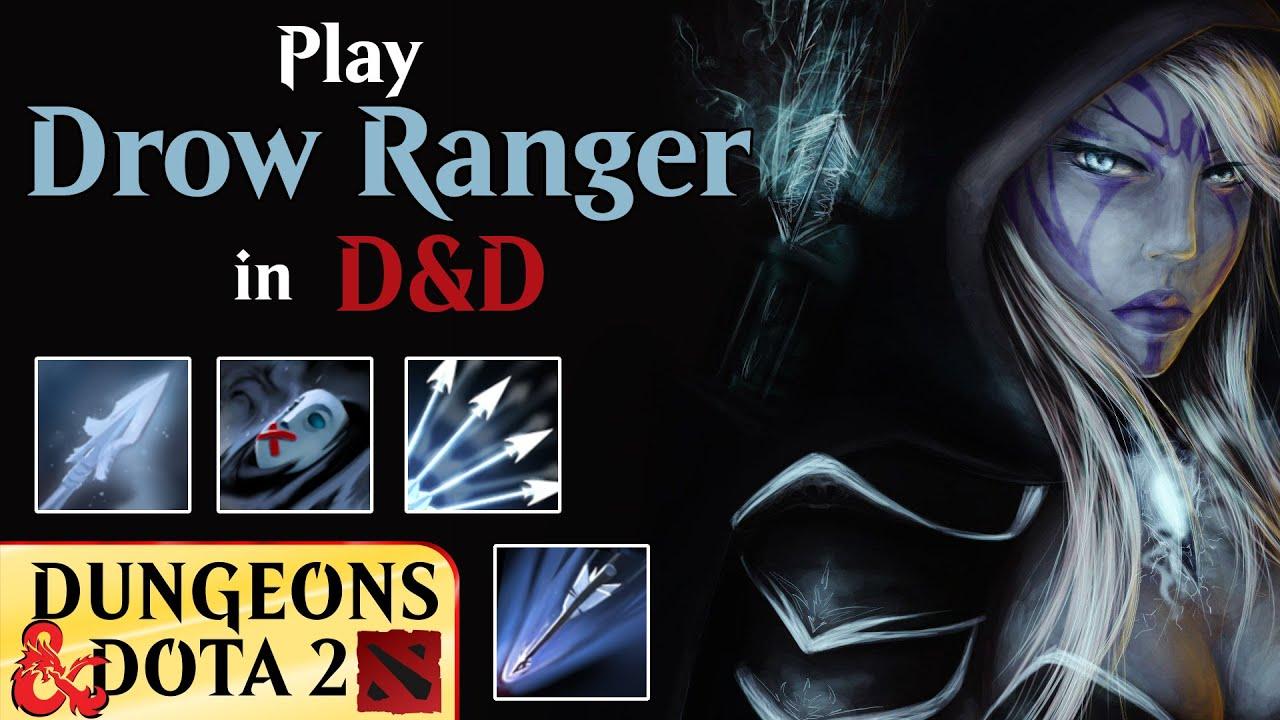 Drow Ranger Dnd