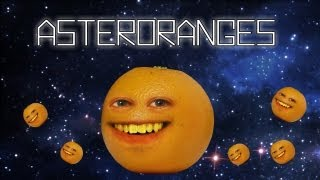 Annoying Orange - Asteroranges (Asteroids Video Game Spoof!)