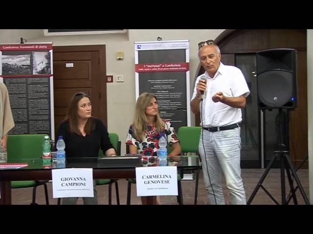 Gambatesa 17-08-2015: convegno cardioparty - intervento Pasquale Contento