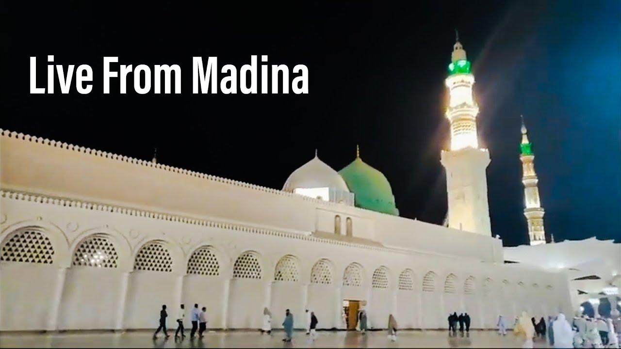 Live Azan e Fajr From Madina