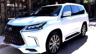 New 2020 Lexus LX570 Luxury with Sport Package Walkaround