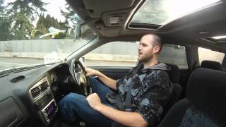 1996 Nissan Stagea - Drive Home