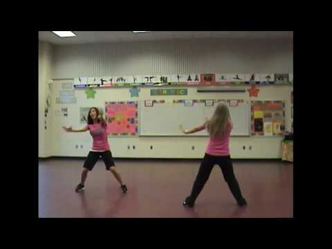 Charlotte Get Your Move On Dance Instructions Part 2 w music