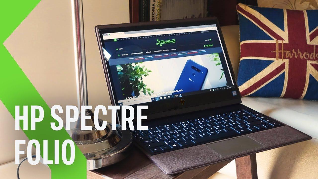 e0de4d619b62 HP Spectre Folio, análisis: review con características, precio y  especificaciones