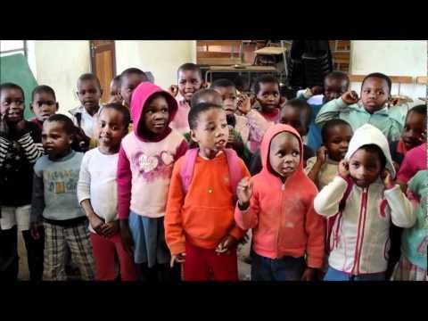 African Kids Singing, Kwazulu Natal, South Africa