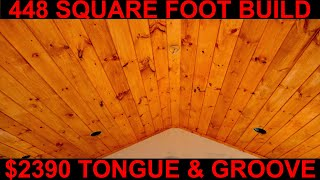Cost of Tongue and Groove ceiling