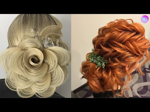 Top 12 Amazing Hairstyles Tutorial   HairStyle Compilation 2018