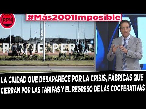 #Más2001Imposible: la ciudad que desaparece por la crisis, fábricas cerradas y de nuevo cooperativas