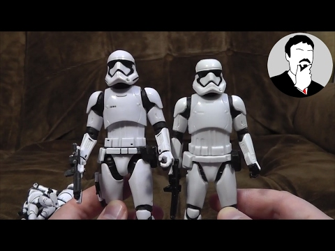 First Order Stormtrooper Figures | Ashens