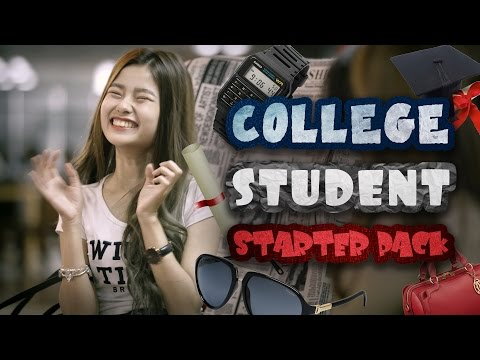 How To Survive College (College Student Starter Pack) - JinnyboyTV