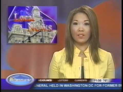 TV News Meltdown! Anchor Forgets Microphone! WHIZ-TV WHIZ News Zanesville