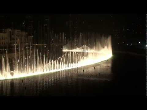 The Dubai Fountain - Bassbor Al Fourgakom