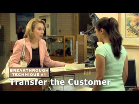 Dealing with the Irate Customer - Technique #1: Transfer to someone (anyone!) else.   2