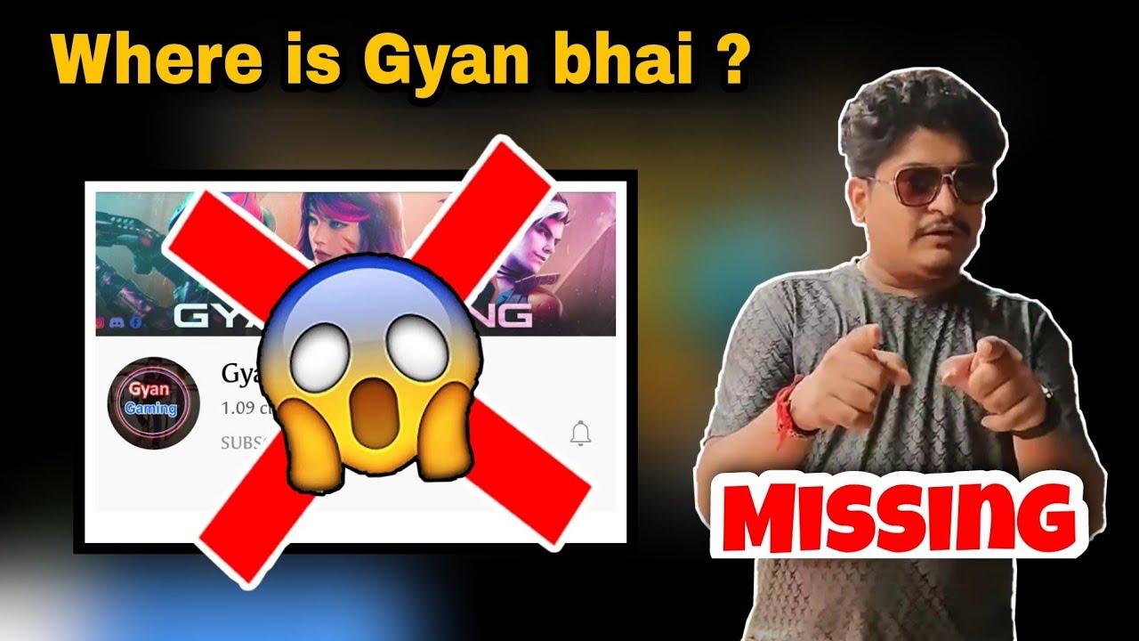Gyan Gaming channel hack😱   Gyan bhai missing😭😳 #shorts #freefire #gyangaming