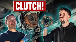 homepage tile video photo for Can A Non-Car Guy Change A Clutch?
