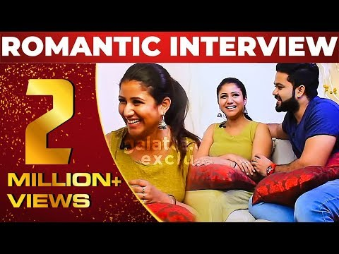 Alya Manasa & Sanjeev Romantic Interview EVER   Raja Rani   NPA 16