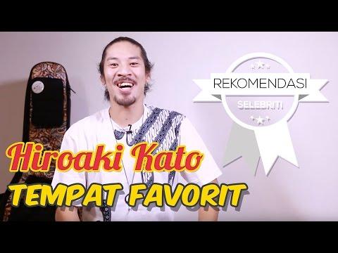 5 Tempat favorit Hiroaki Kato di Indonesia