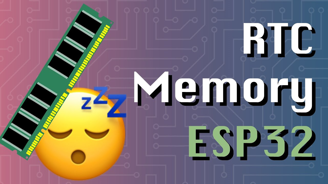 Deep sleep: Use RTC memory to store data (ESP32 + Arduino series)
