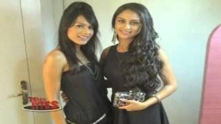 dazzling beauties in black dress