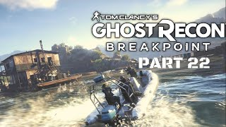 TOM CLANCY'S GHOST RECON BREAKPOINT GAMEPLAY PART 22- (FIND LAN BLAKE) - FIRE B GAMING