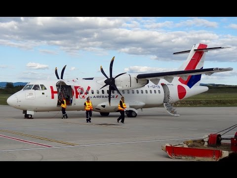 ATR 42-500 Airline Hop! - Preflight and Takeoff