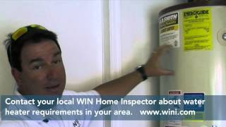 Home Inspection Tip: Hot Water Heater Saftey
