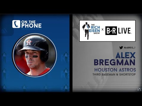 Astros 3B Alex Bregman Talks Brawls, HR Derby, LSU & More with Rich Eisen | Full Interview | 7/23/19