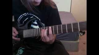 Malignant Amour - Rose Funeral (Guitar Cover)