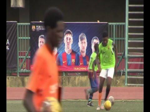 Sport / Nigeria : Le FC Barça ouvre un club d'entrainement pour les enfants footballeurs à Lagos
