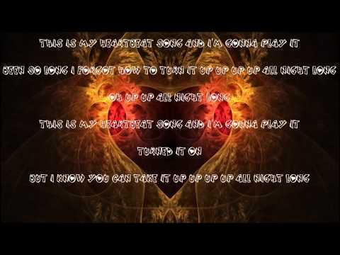 Heartbeat Song - Kelly Clarkson ( Lyrics )