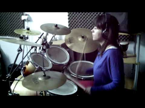 Maroon 5 - Won`t Go Home Without You (drum cover by Miruna)